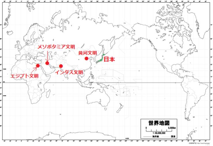 ユーフラテス 文明 チグリス 【文明の始まり】|世界史ノート|note